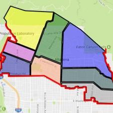 Altadena census tract Map